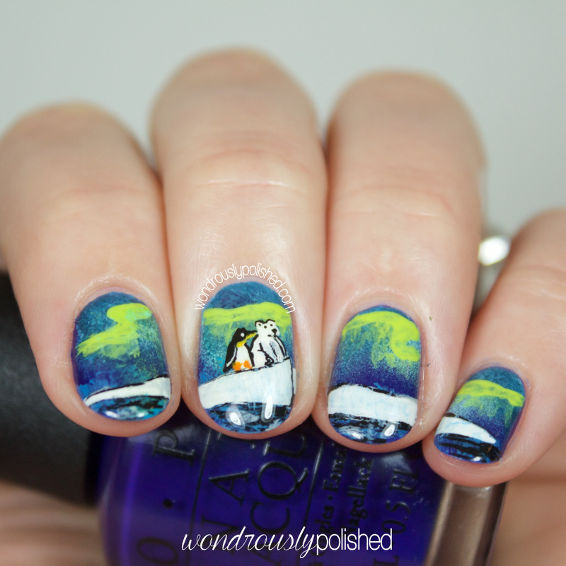 Aurora Borealis Nail Art   Best Nail Designs 2018