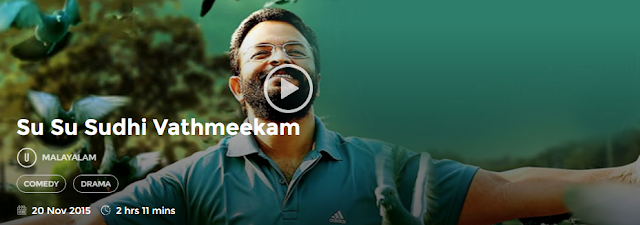 Su Su Sudhi Vathmeekam (2015) Malayalam Movie 300mb 700mb HD