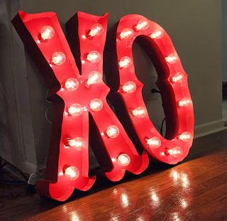 How to Make DIY Light-Up Marquee Letters