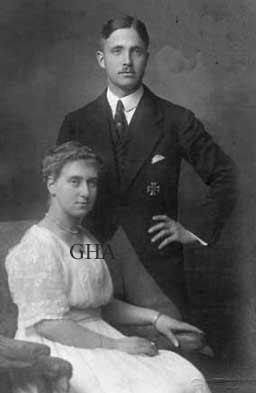 Josias Fürst zu Waldeck und Pyrmont et son épouse, née duchesse Altburg von Oldenburg