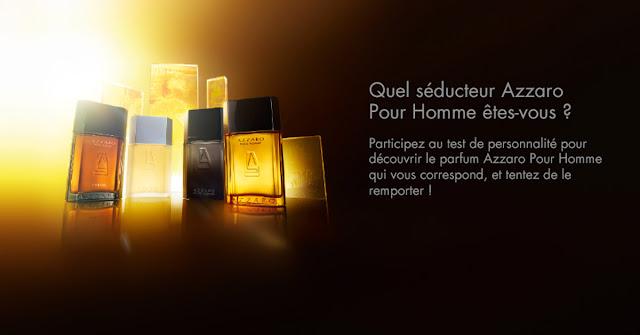 Concours 10 fragrances de la gamme Azzaro à gagner !