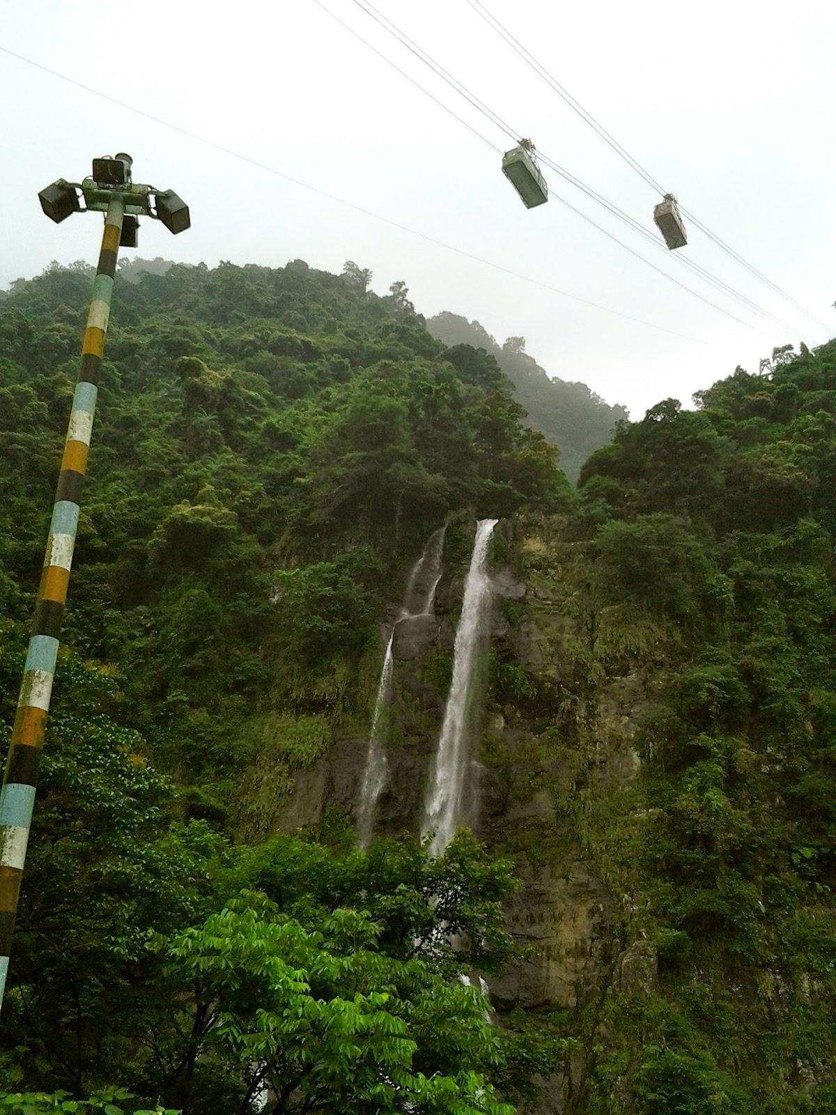 Wulai Cable Car Ride Taiwan