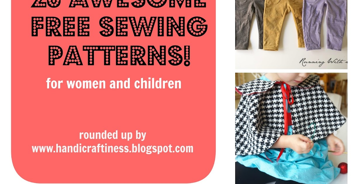The Pretty Kitty Studio : My Top 20 Favorite Free Clothing Patterns