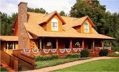 Decorando casas y mas modernas casas de madera 2012 - Casas de madera y mas ...