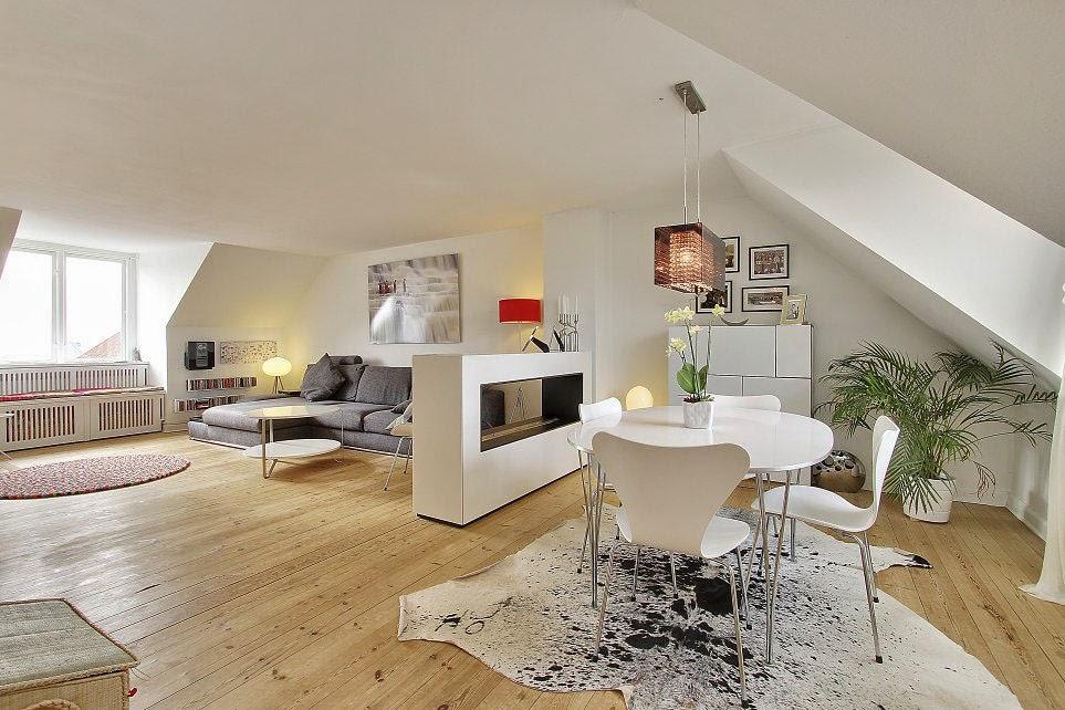Modern Scandinavian-Style Loft Apartments Design   Homesigner