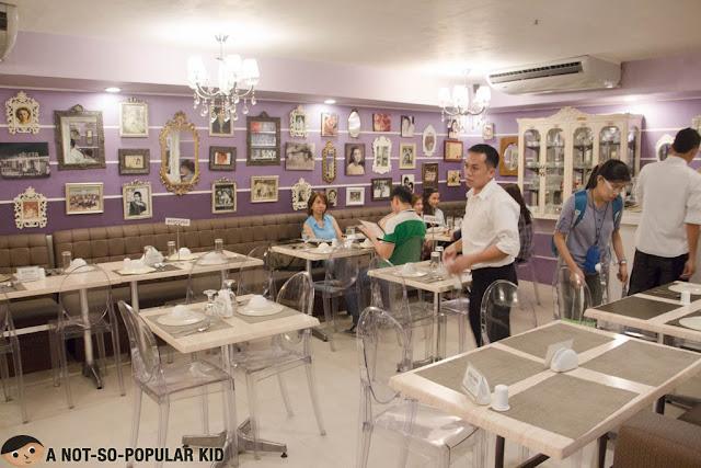 Bistro Pamana Interior, Makati