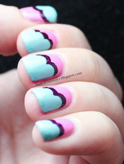 Nails4Dummies - Cloud Mani