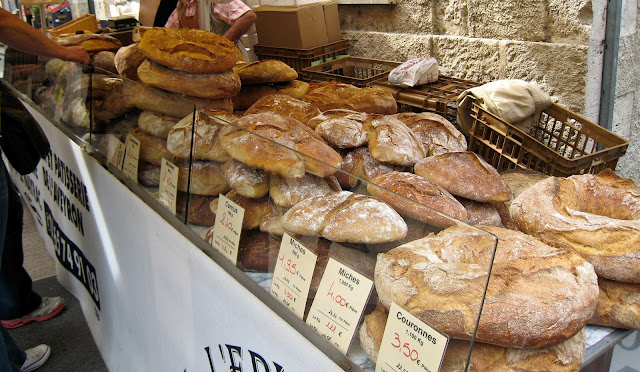bread, market, France