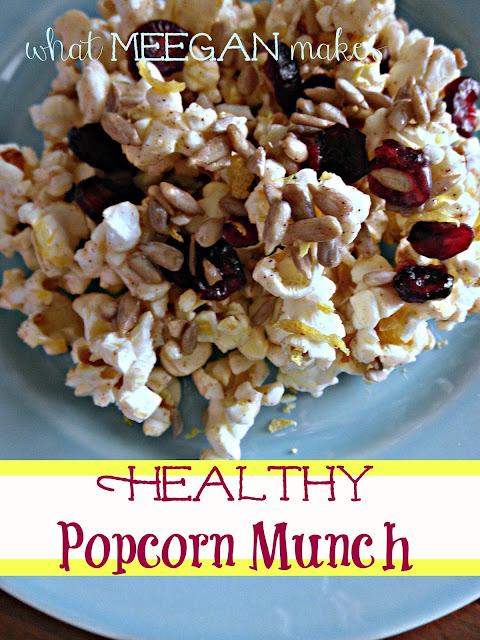 Healthy Popcorn Munch