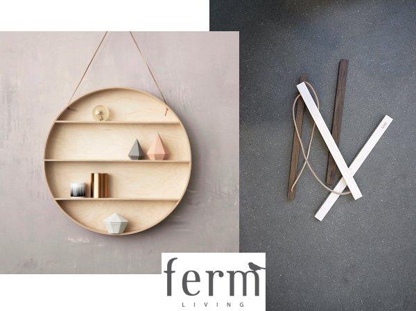 Dorm Cabinet/Picture Rails| More Collection | Ferm Living | Picture Ferm  Living