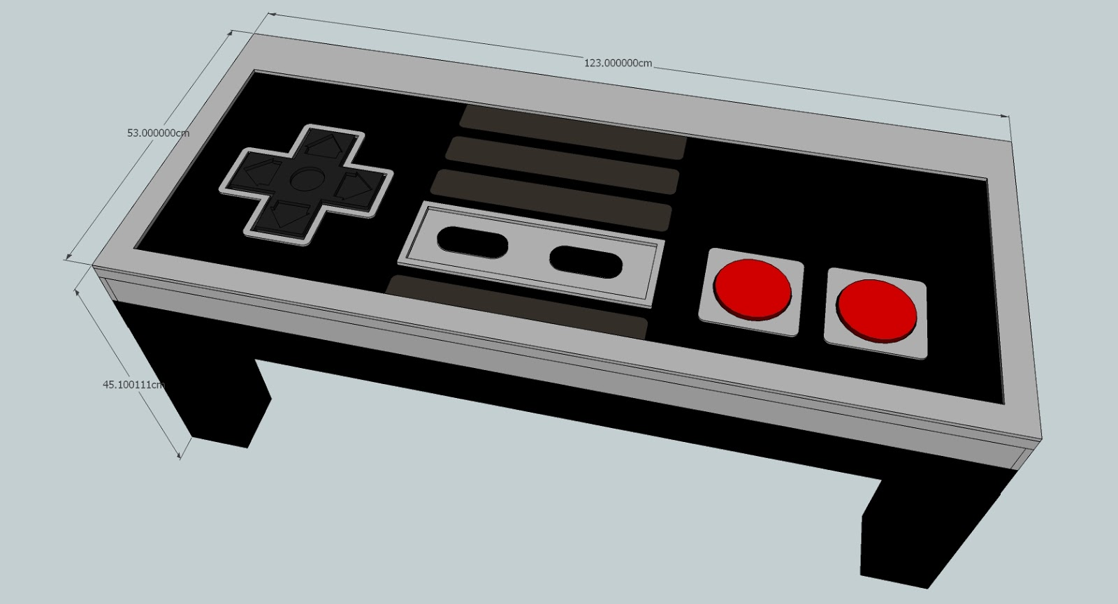 Do It Like Doli Building a Nintendo NES Coffee Table Part I