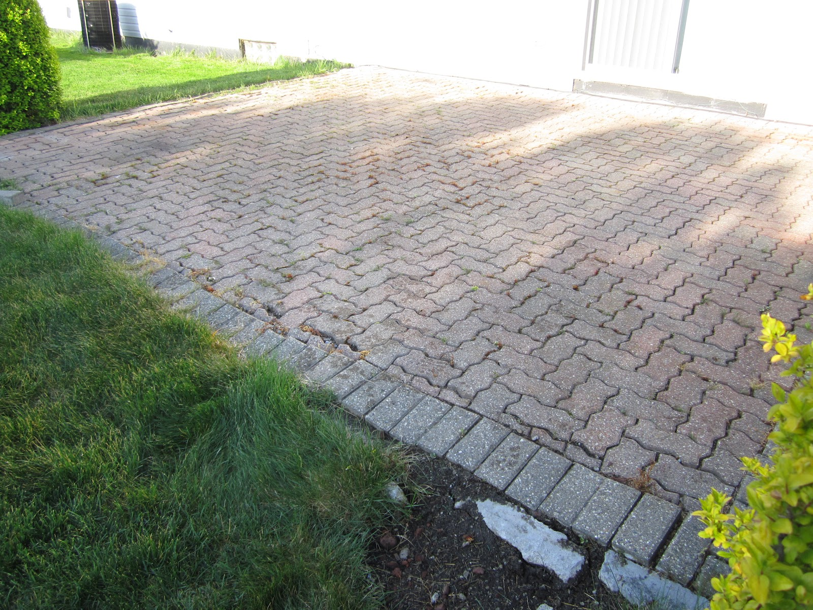 We Completely Lifted Up The Brick Pavers, Removed Any Organic Matter,  Re Compacted The Original Base Material, Added Additional Base As Needed,  ...