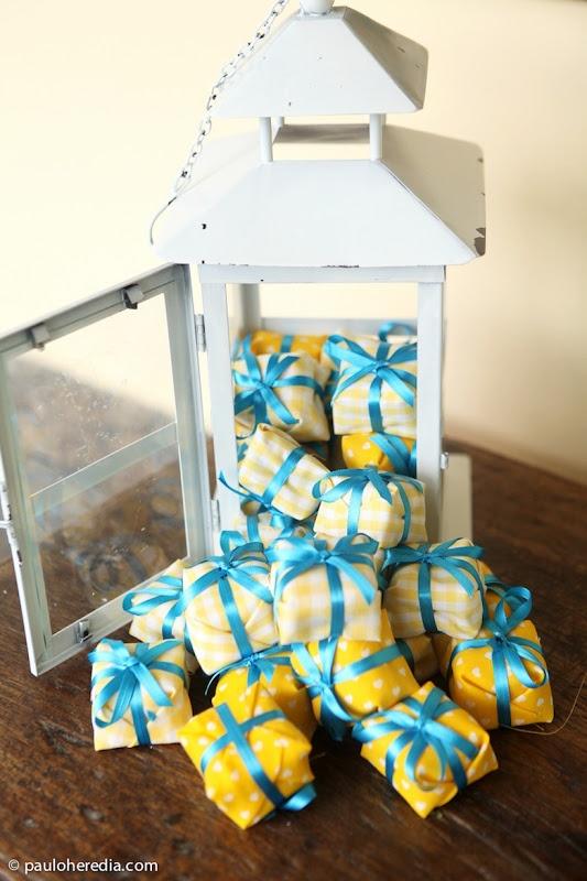 decoracao de casamento na igreja azul e amarelo:Eventos de Papel: Cores para Casamento: Azul Aqua + Amarelo