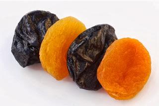 الفواكه المجففة: