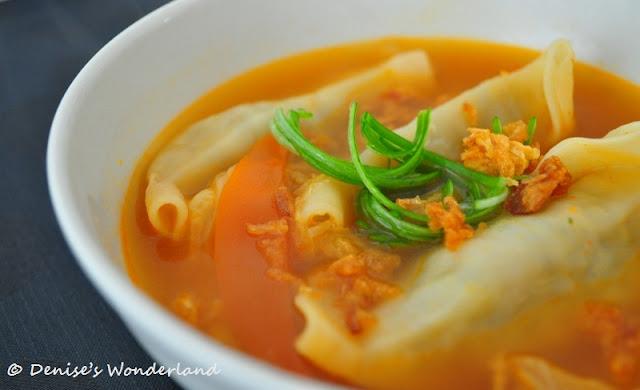 vegetarian jiaozi