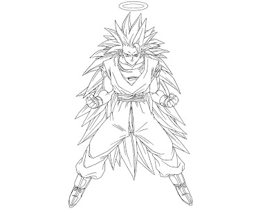 #6 Dragon Ball Coloring Page
