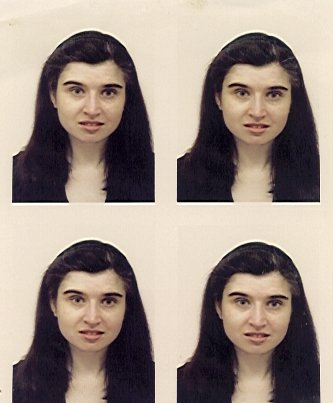 a grid of passport photos