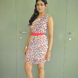 Manisha Yadav Photos in Floral Short Dress at Preminchali Movie Press Meet 75