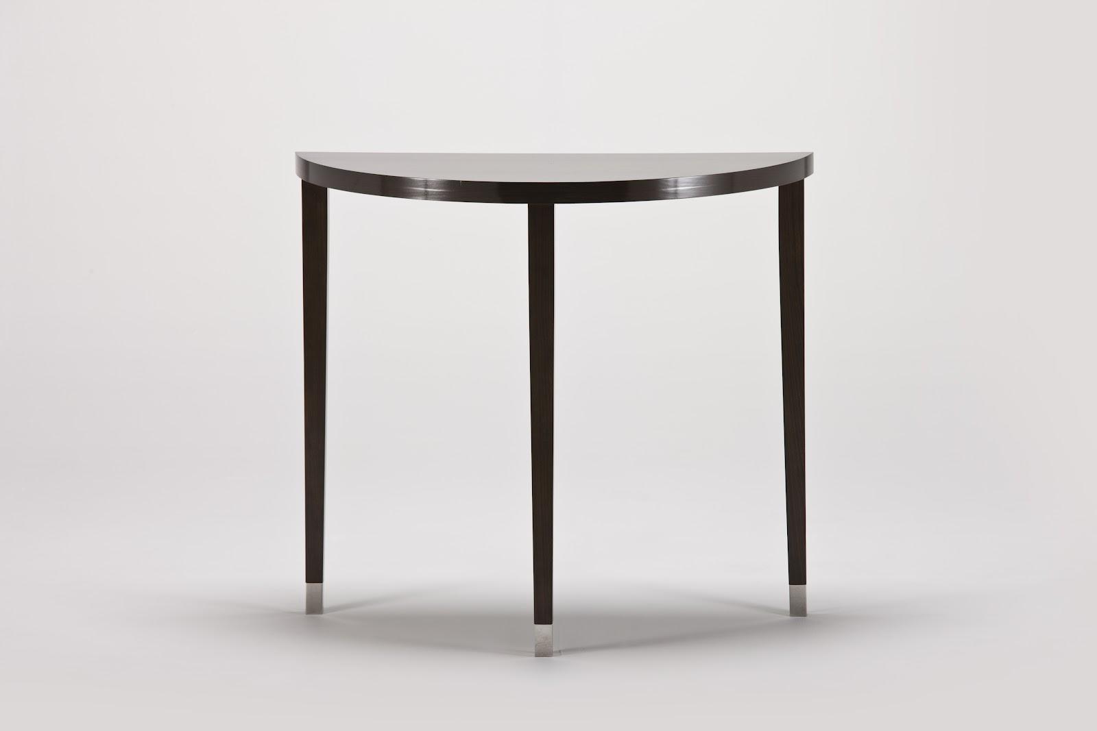 half moon table,small living room table,makeup table,bedroom table,corner table,door side table