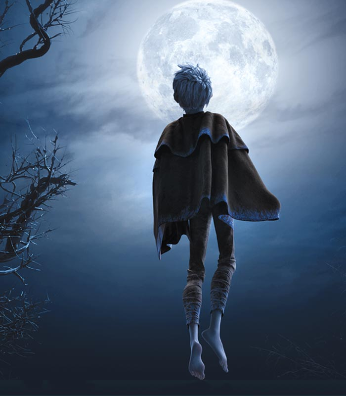 Love is an Escape ♥: Jack Frost's Touching Background Story