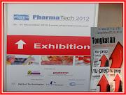 Pharma Tech Conference 2012 KLCC - NU-PREP produk herba bersasaskan Tongkat Ali YANG LAYAK