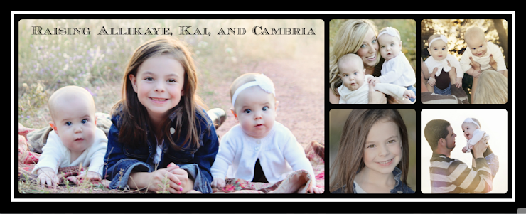 Raising Allikaye, Kai, and Cambria