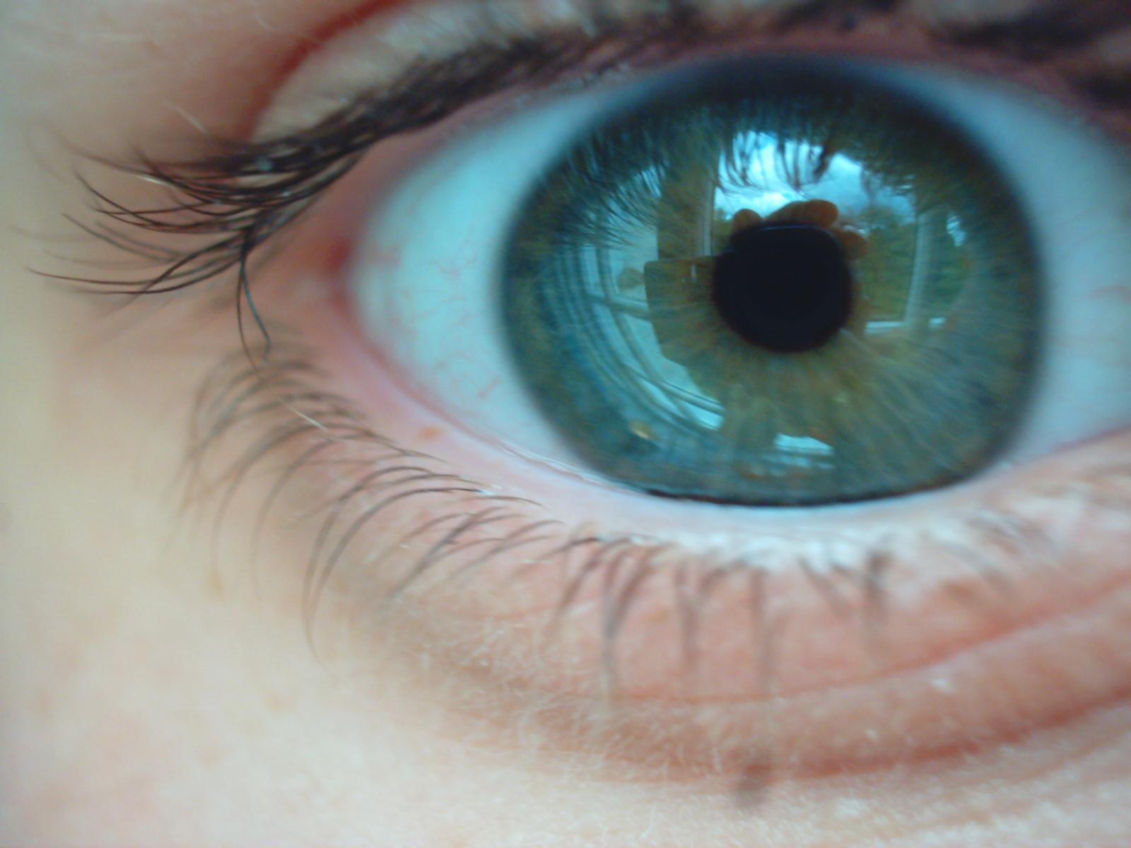 Как в фотошопе сделать глаза цветными