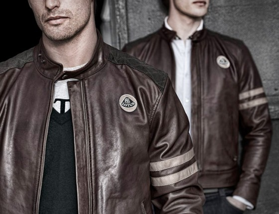 Clothing Lotus Originals Heritage Racing Leather Jacket