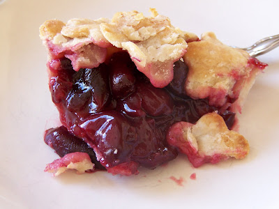No cook cherry pie
