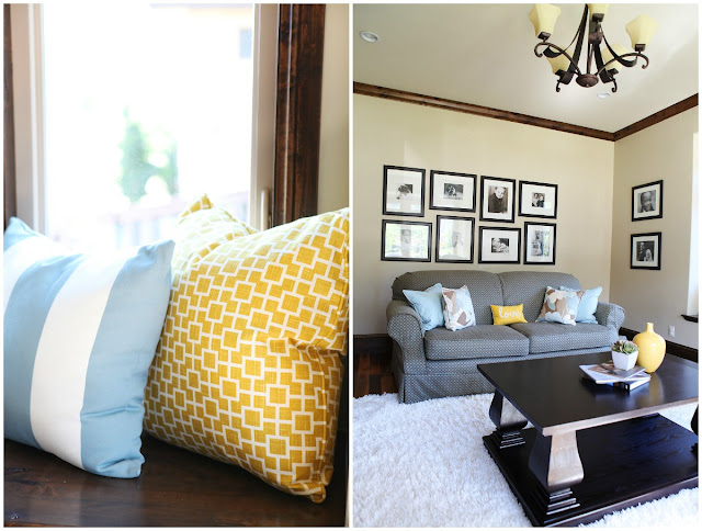 Yellow Blue Rustic Color Scheme Brooke Jones Designs