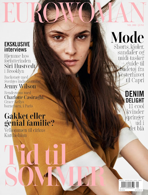 Model @ Kremi Otashliyska by Henrik Bulow for Eurowoman June 2015