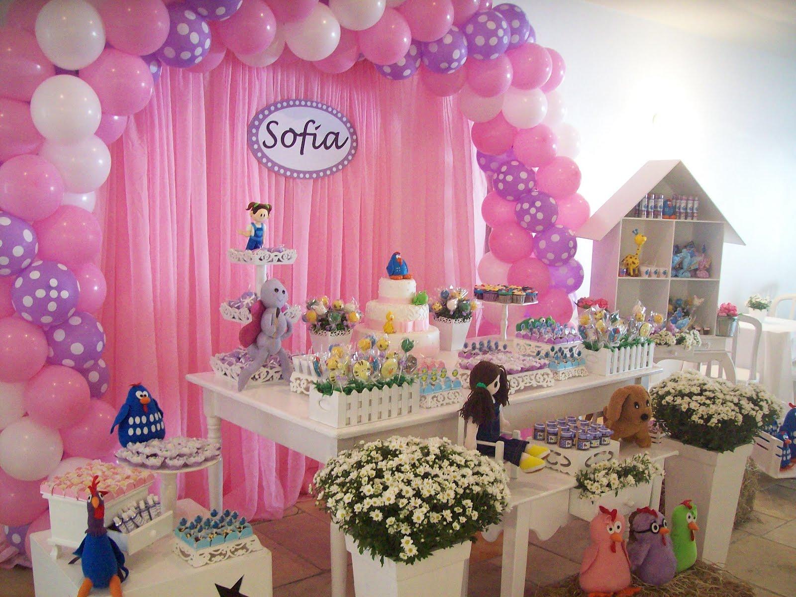 decoracao festa galinha pintadinha rosa:Galinha Pintadinha e sua turma