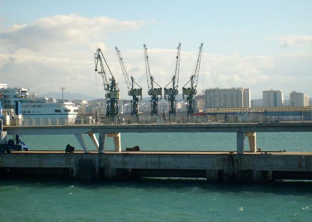 Port Algeciras na Cieślinie Gibraltarskiej