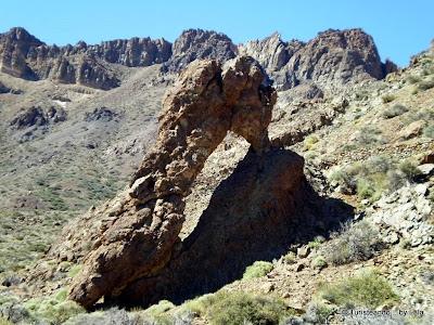 Mirador de la Zapatilla de la Reina, Teide