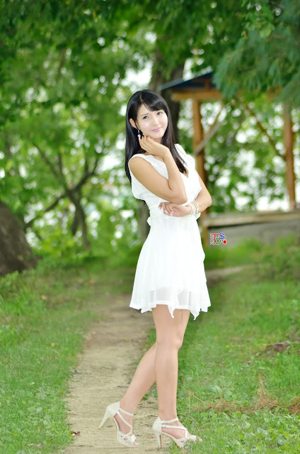 3 Cha Sun Hwa Outdoor  -Very cute asian girl - girlcute4u.blogspot.com