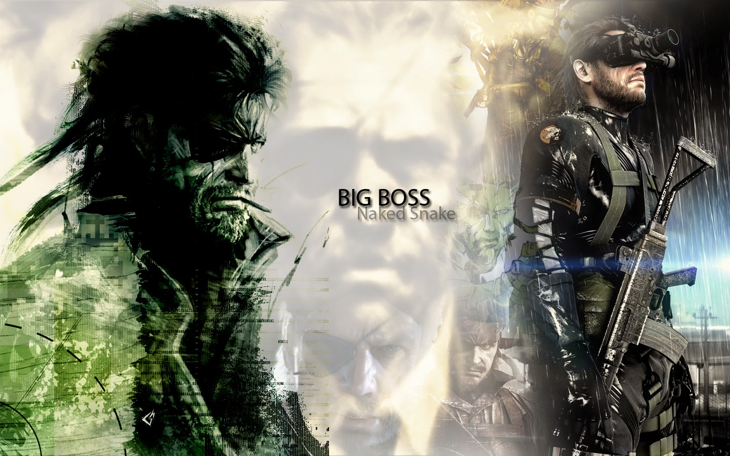 Metal Gear Solid 5 Ground Zeroes Big Boss