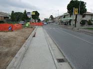 Nuovi marciapiedi a Sambucheto