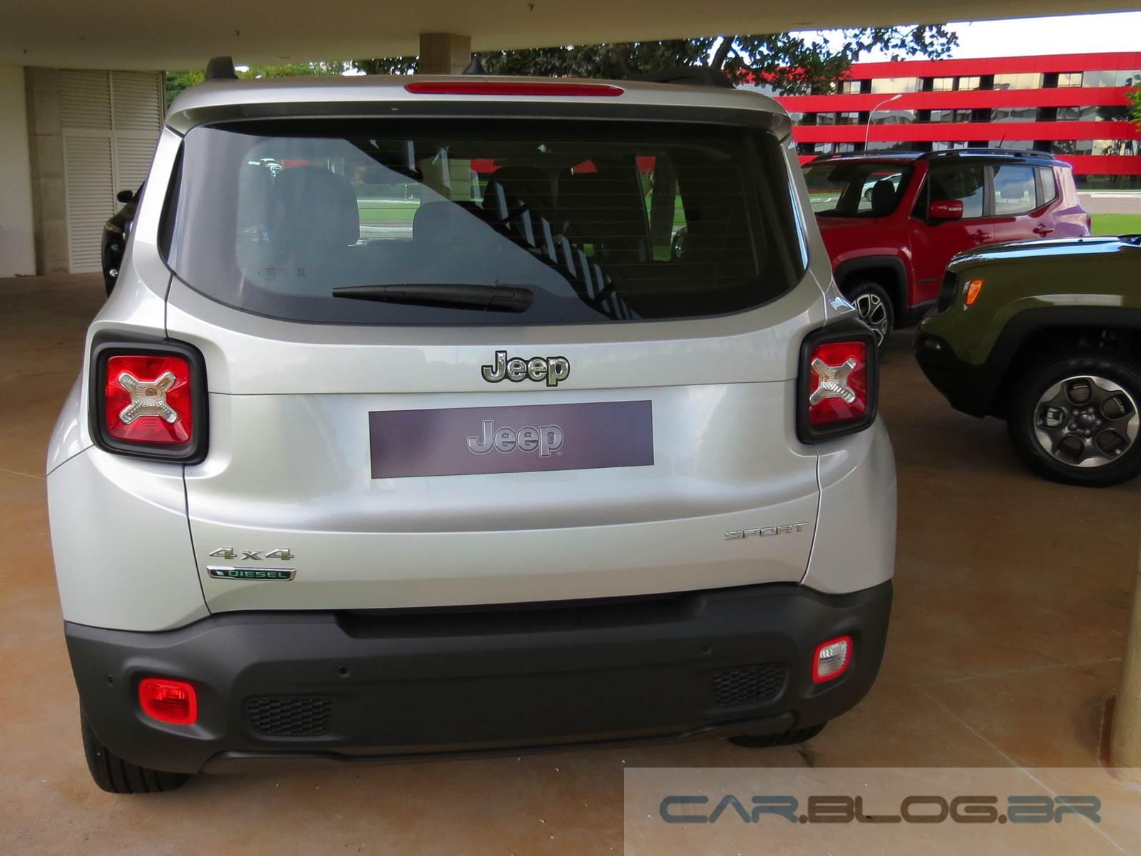Jeep Renegade 2.0 Diesel - Brasil - traseira