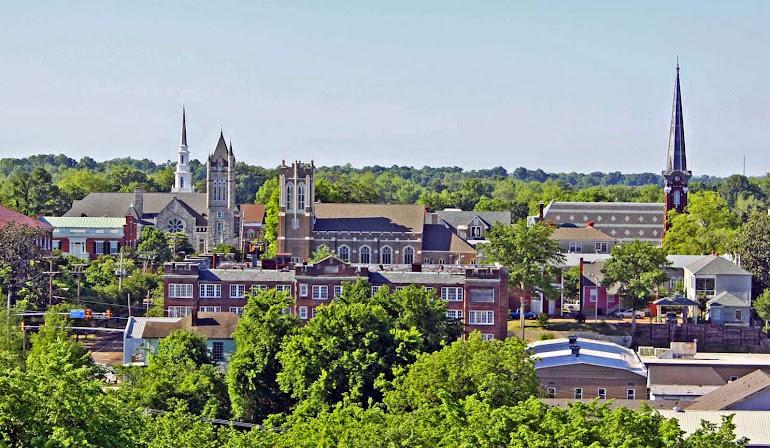 Vicksburg Steeples