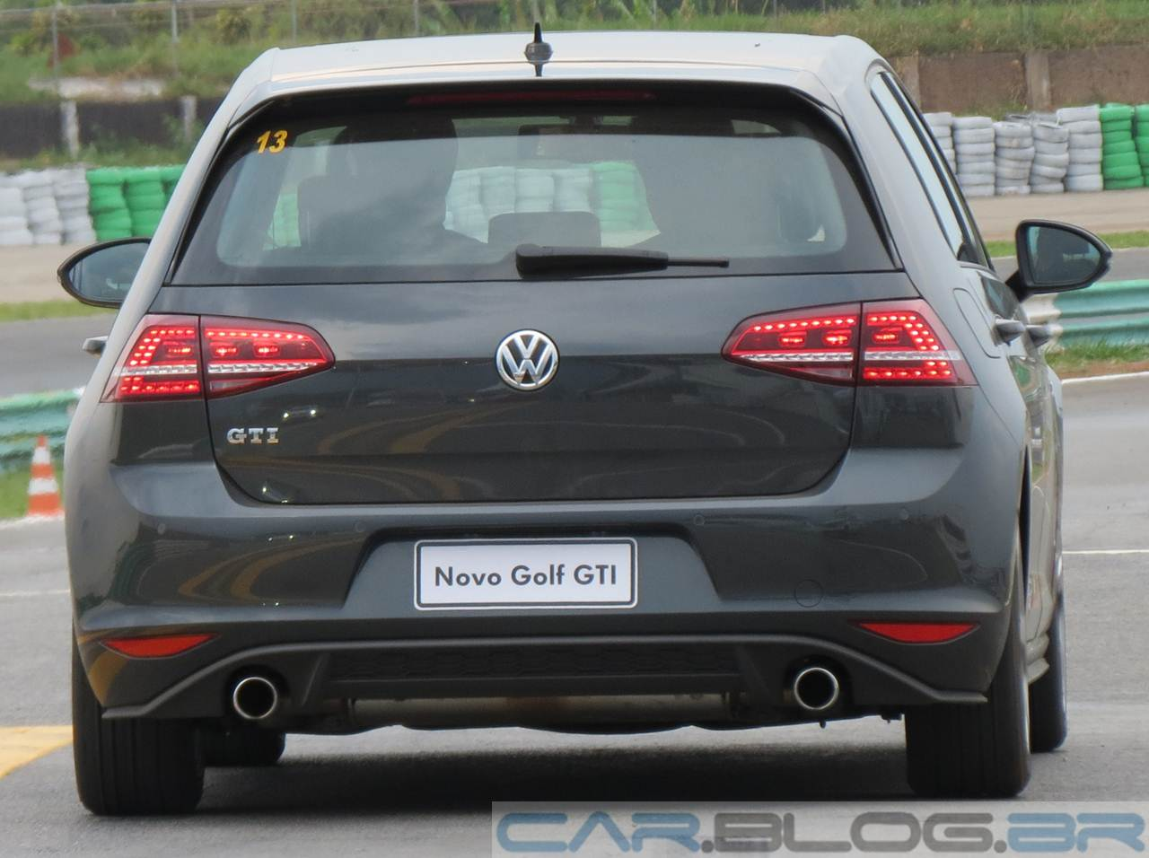 VW Golf GTI 2014 Cinza Carbono