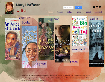 Mary Hoffman's website