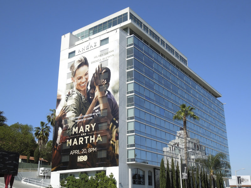 Mary and Martha HBO film billboard