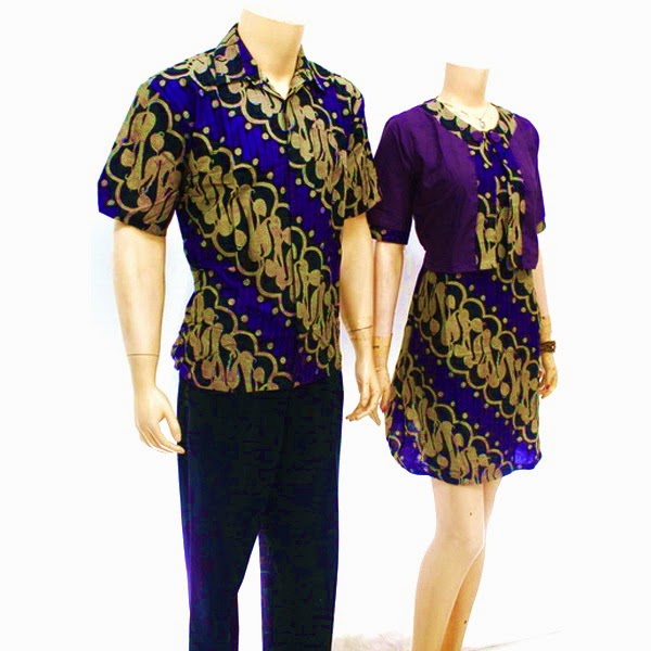 Model Baju Pasangan Batik