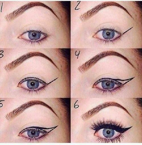 M thode professionnel pour appliquer l 39 eye liner conseils tita trouver tout les astuces pour - Comment faire un trait de liner ...
