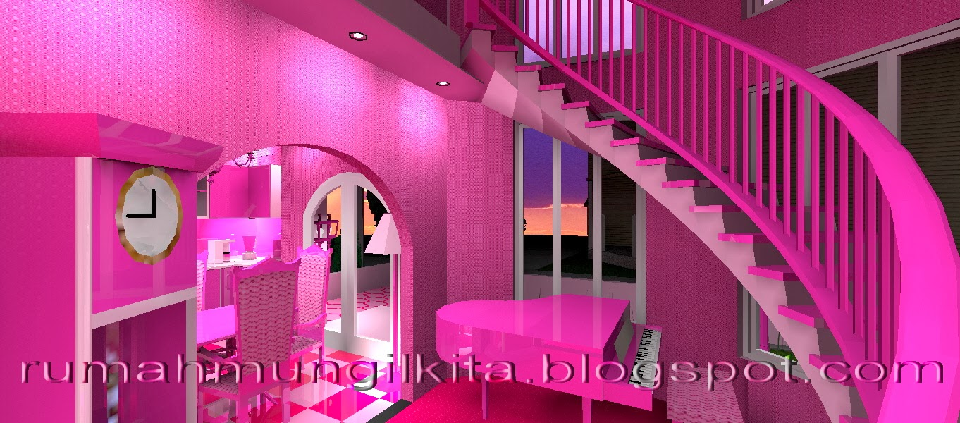 real barbie dream house castle, the stair