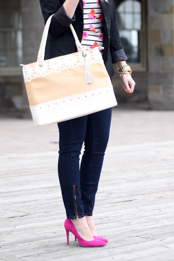 Yoga Jeans, Yoga Jeans Giveaway, Ankle Zip, Darling Tote Bag