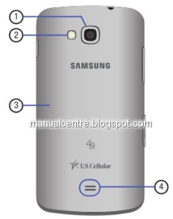 Samsung Galaxy Axiom Back Views