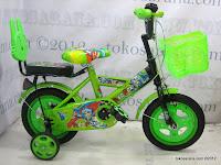 1 Sepeda Anak Red Fox 12-1107-9 Dop Bintang 12 Inci