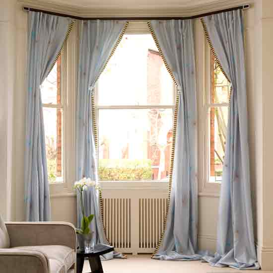 Curtain Lab Soft Furnishings How To Dress Bay Windows