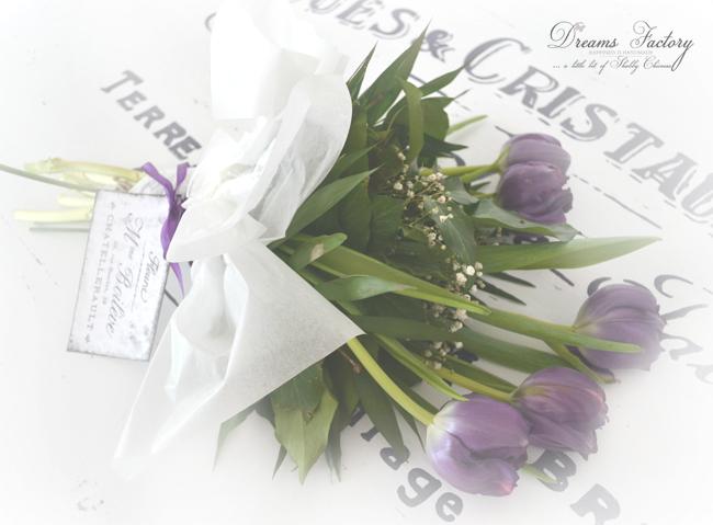 How to easily style a French bouquet / Cum sa stilizati usor un buchet frantuzesc